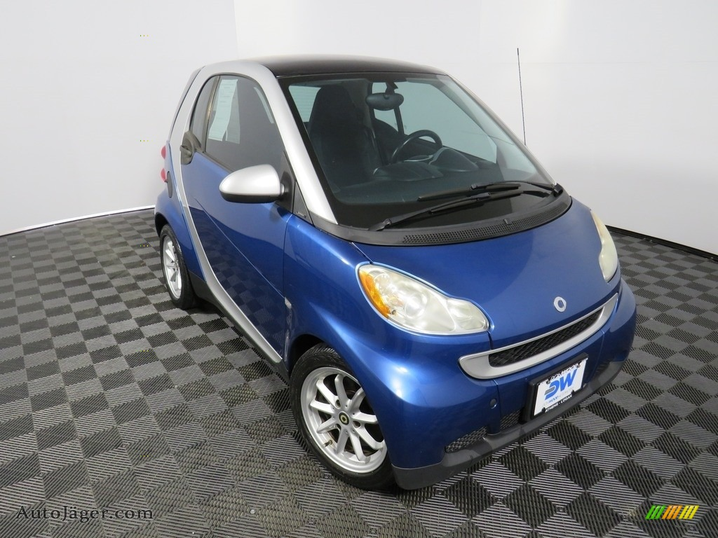 2009 fortwo passion coupe - Blue Metallic / Design Black photo #6