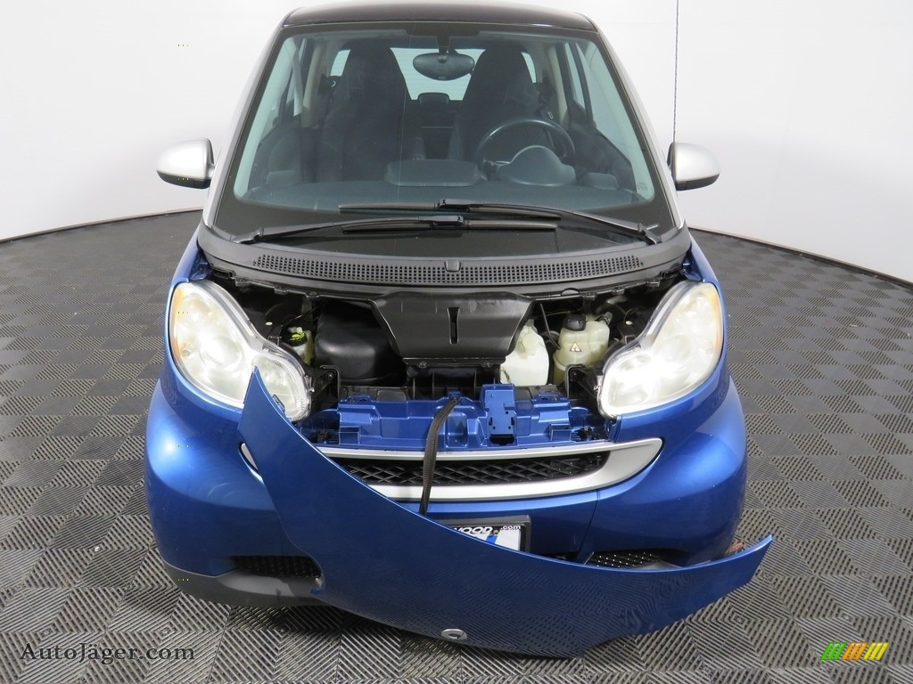2009 fortwo passion coupe - Blue Metallic / Design Black photo #8
