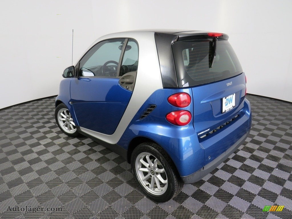 2009 fortwo passion coupe - Blue Metallic / Design Black photo #14