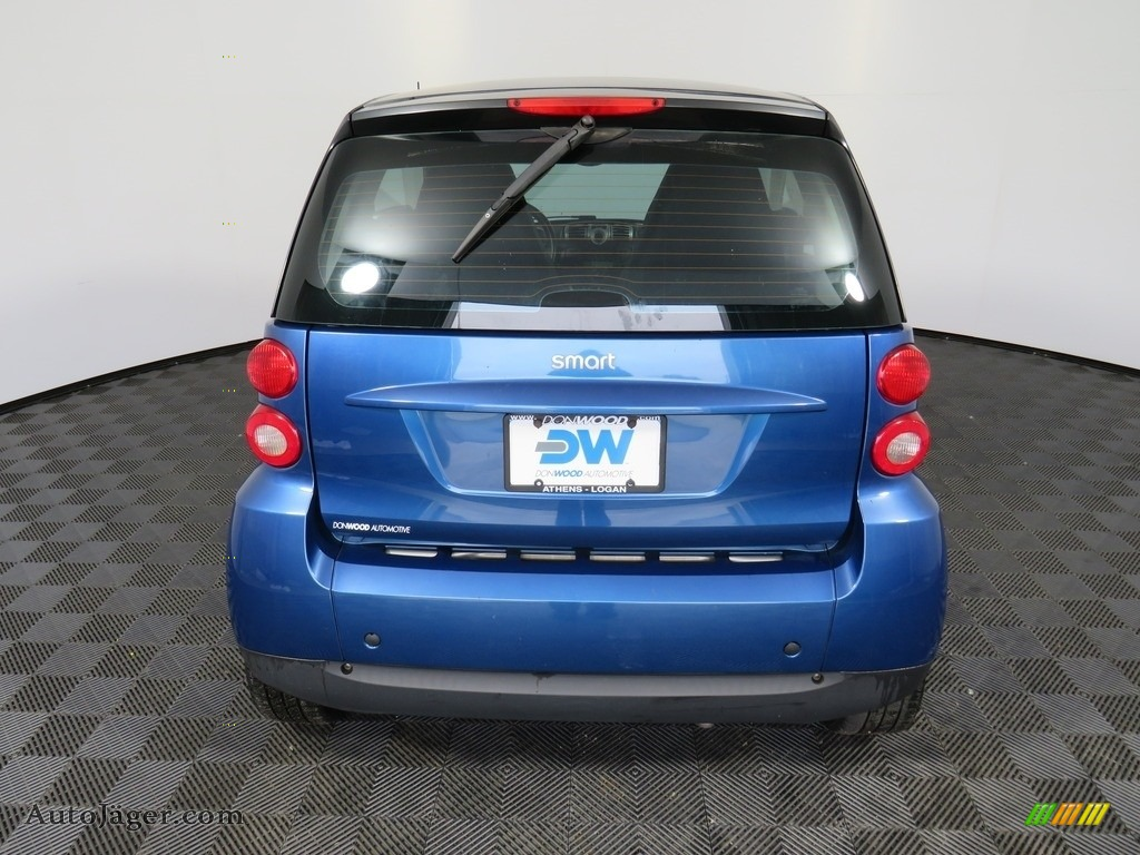 2009 fortwo passion coupe - Blue Metallic / Design Black photo #15