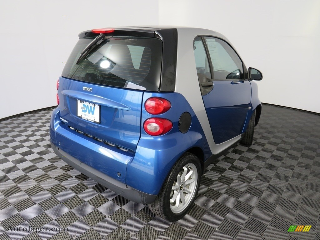 2009 fortwo passion coupe - Blue Metallic / Design Black photo #18