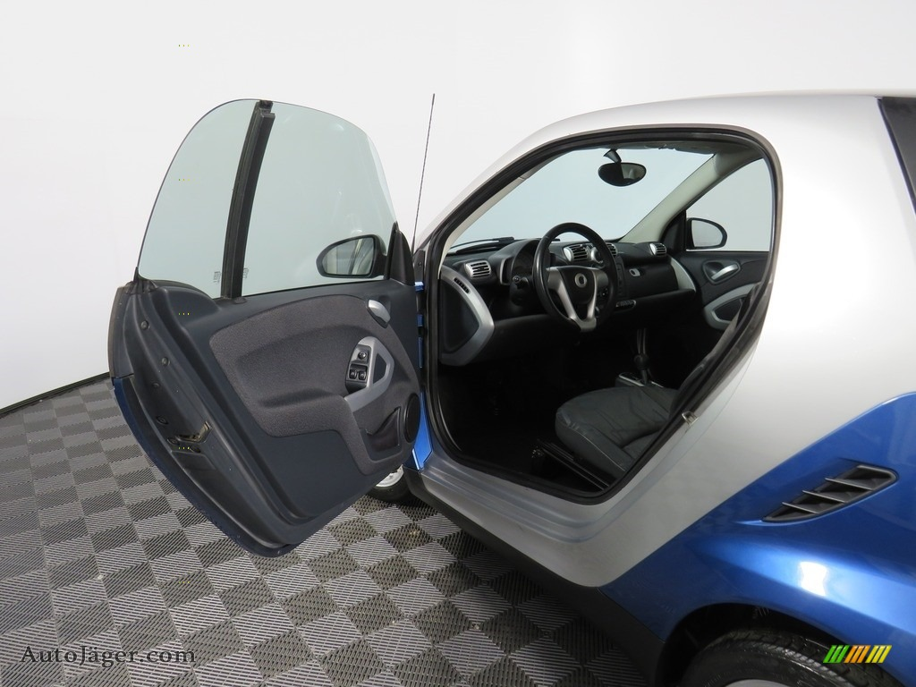 2009 fortwo passion coupe - Blue Metallic / Design Black photo #27