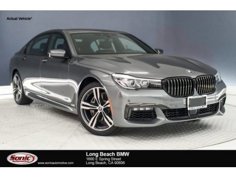 Magellan Gray Metallic 2019 BMW 7 Series 740i Sedan