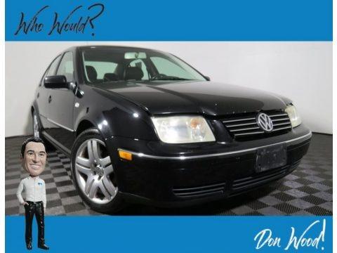 Black 2004 Volkswagen Jetta GLS 1.8T Sedan
