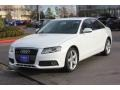 Audi A4 2.0T quattro Sedan Ibis White photo #4