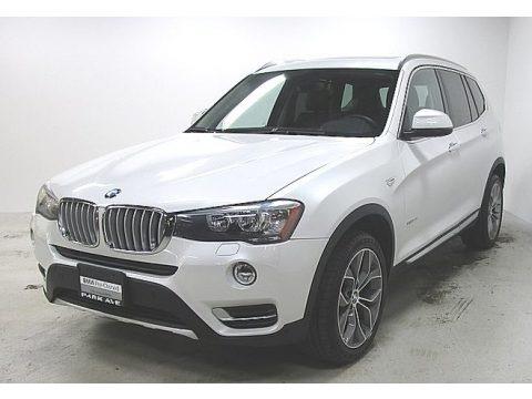 Mineral White Metallic 2016 BMW X3 xDrive28i