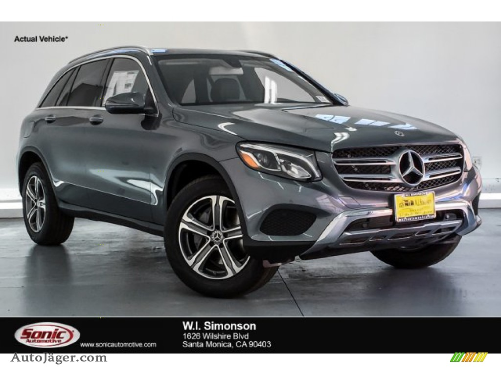 2019 GLC 300 - Selenite Grey Metallic / Black photo #1