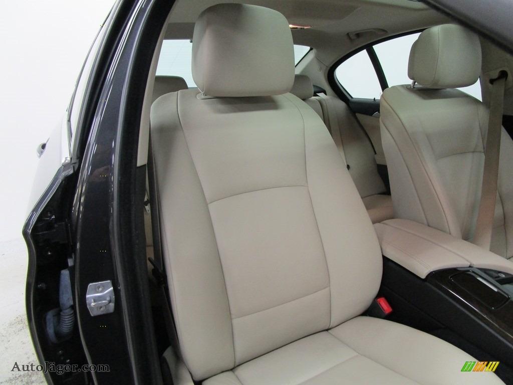 2013 5 Series 528i xDrive Sedan - Dark Graphite Metallic II / Oyster/Black photo #14