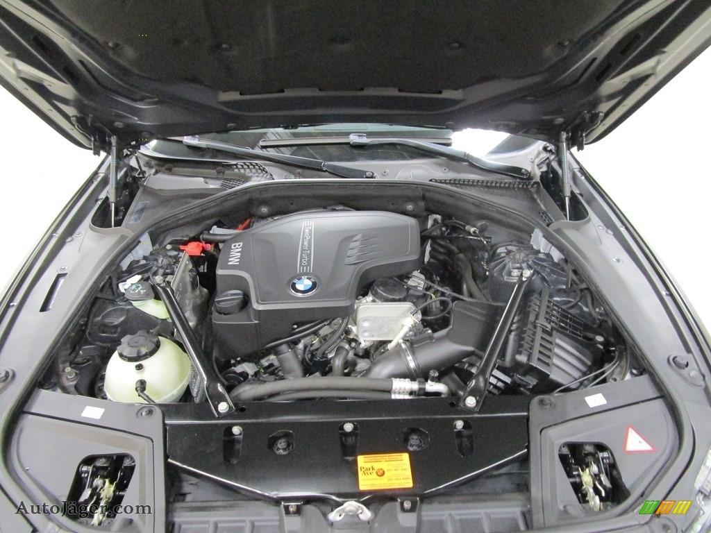 2013 5 Series 528i xDrive Sedan - Dark Graphite Metallic II / Oyster/Black photo #28