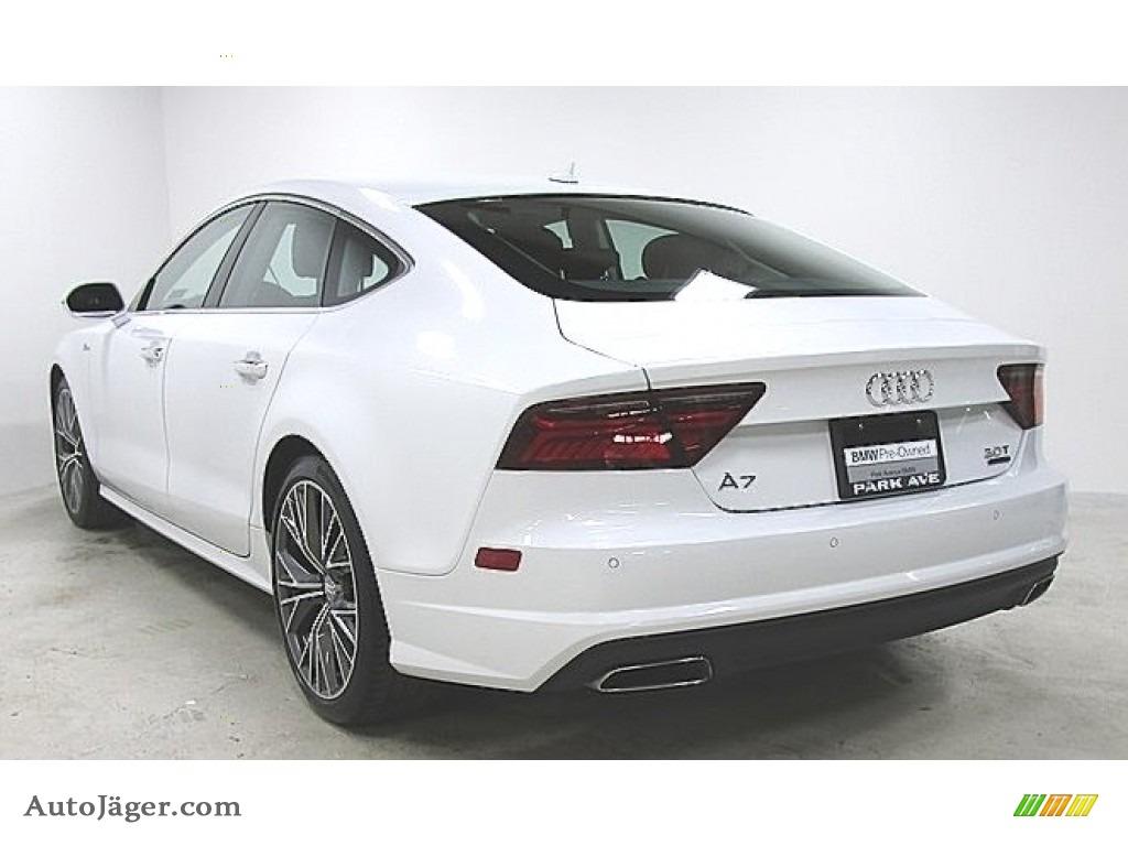 Ibis White / Black Audi A7 3.0 TFSI Prestige quattro