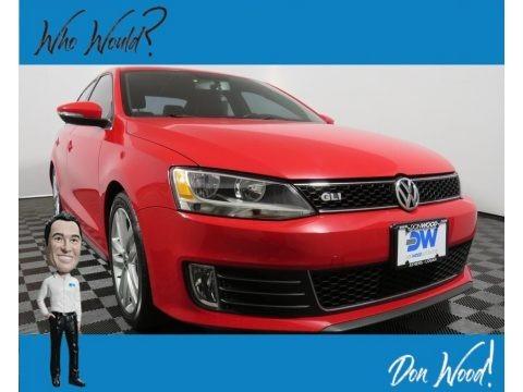 Tornado Red 2012 Volkswagen Jetta GLI