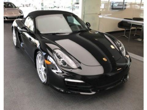 Black 2016 Porsche Boxster Black Edition
