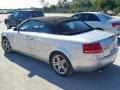 Audi A4 2.0T Cabriolet Light Silver Metallic photo #2