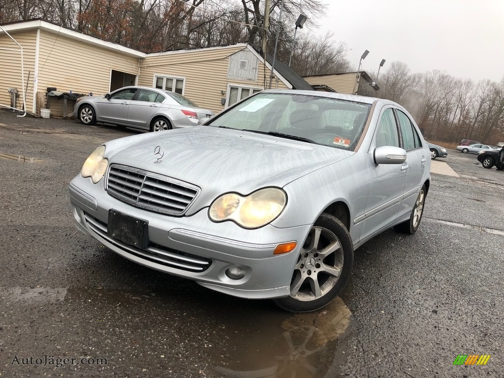 2007 C 280 4Matic Luxury - Iridium Silver Metallic / Black photo #1