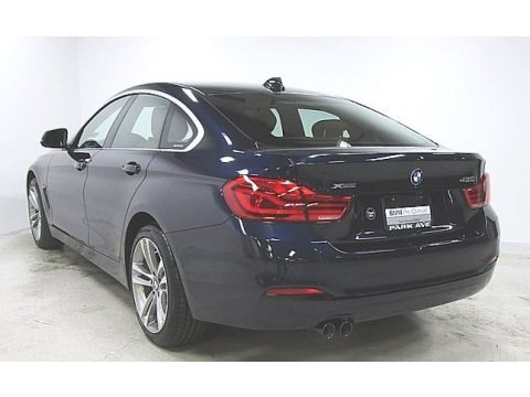 Imperial Blue Metallic 2019 BMW 4 Series 430i xDrive Gran Coupe