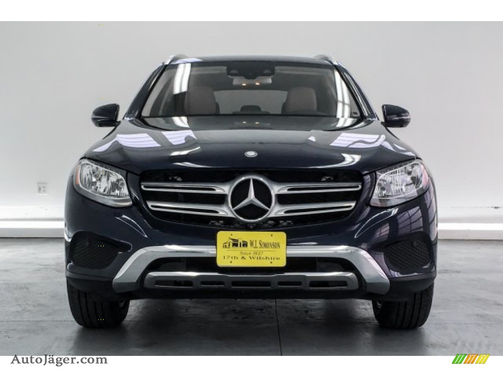 2016 GLC 300 4Matic - Lunar Blue Metallic / Silk Beige photo #2