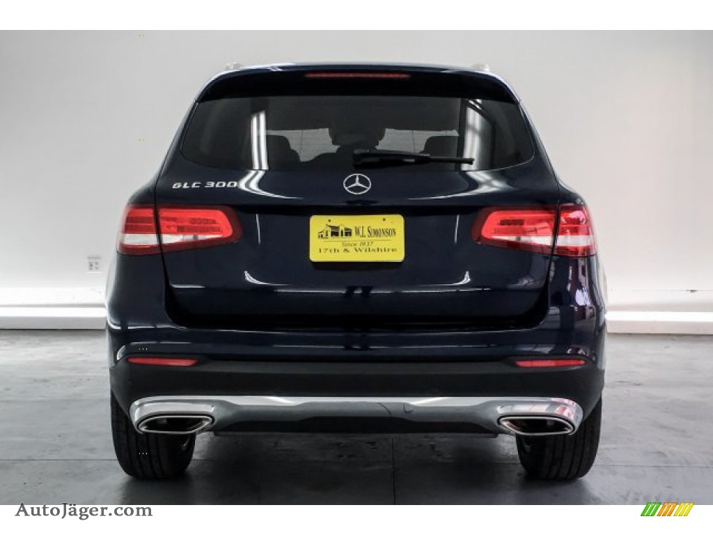 2016 GLC 300 4Matic - Lunar Blue Metallic / Silk Beige photo #3