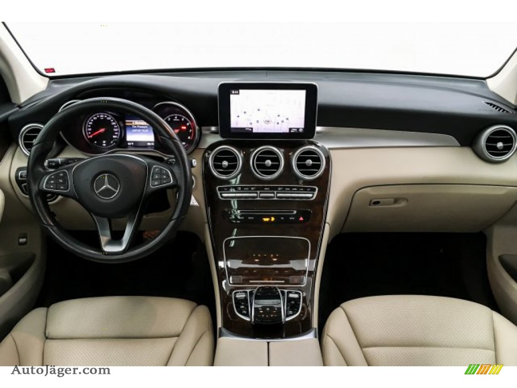 2016 GLC 300 4Matic - Lunar Blue Metallic / Silk Beige photo #18