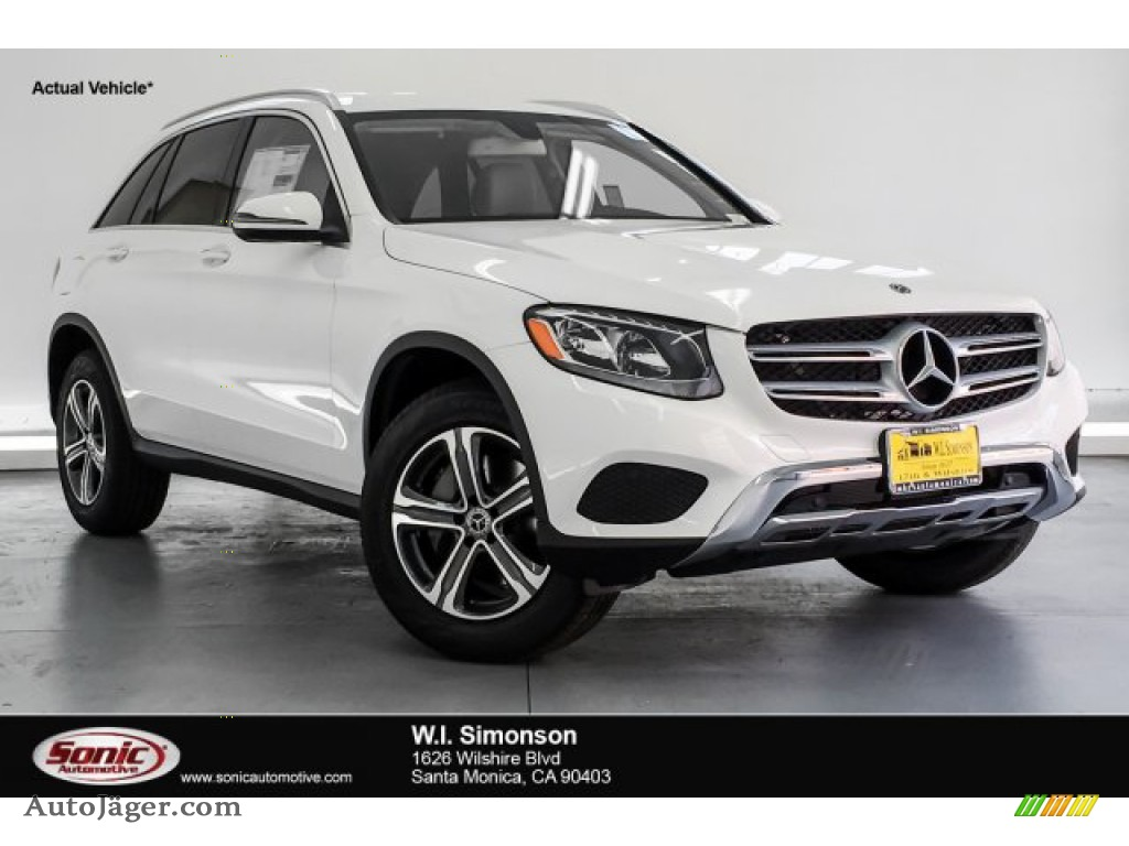 2019 GLC 300 4Matic - Polar White / Silk Beige/Black photo #1