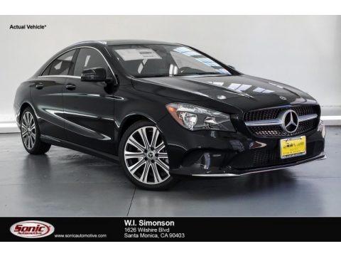 Night Black 2019 Mercedes-Benz CLA 250 Coupe