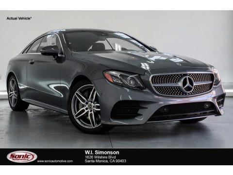 Selenite Grey Metallic 2019 Mercedes-Benz E 450 Coupe