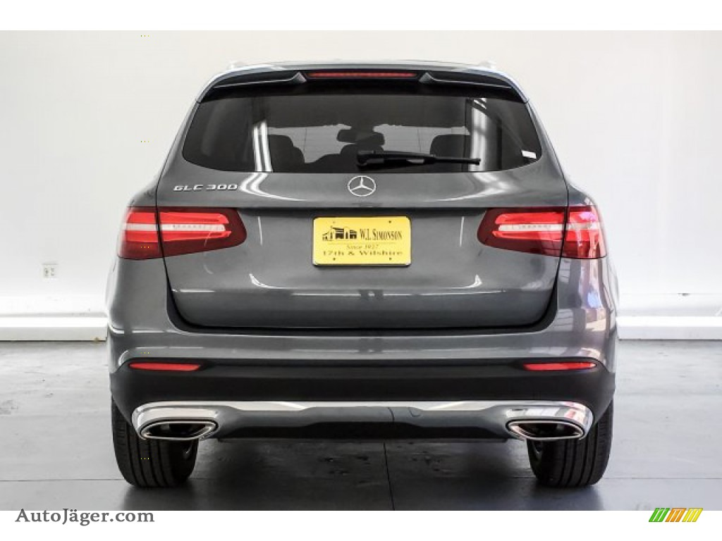 2017 GLC 300 - Selenite Grey Metallic / Silk Beige/Black photo #3