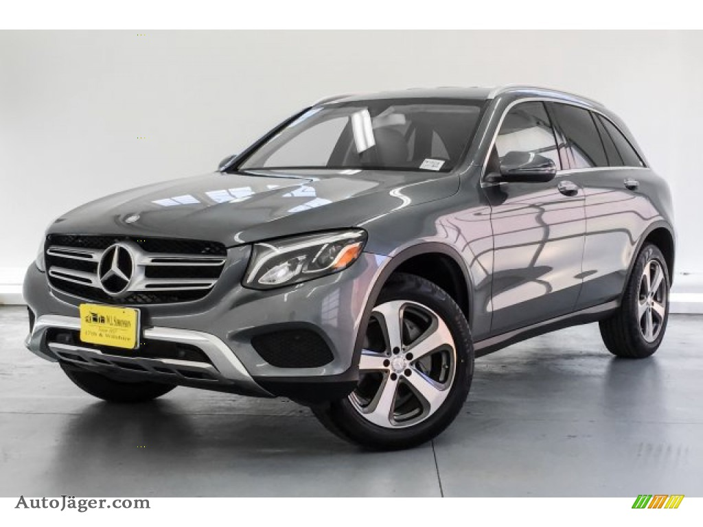 2017 GLC 300 - Selenite Grey Metallic / Silk Beige/Black photo #12