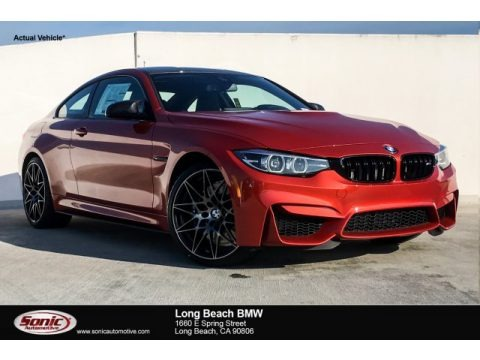 Sakhir Orange Metallic 2019 BMW M4 Coupe