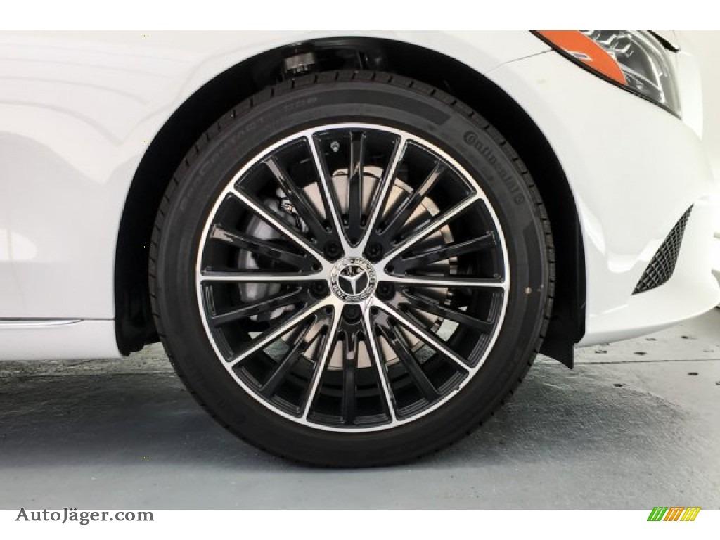 2019 C 300 Sedan - Polar White / Silk Beige/Black photo #9