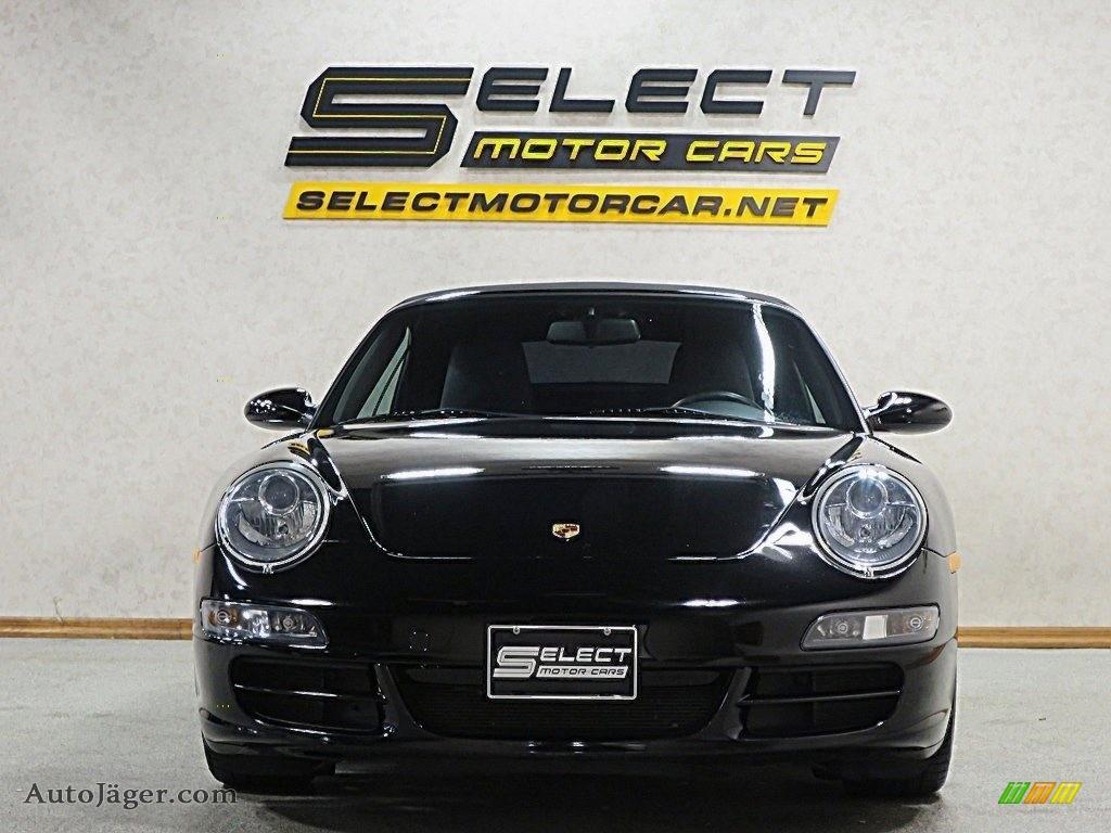 2007 911 Carrera S Cabriolet - Black / Black photo #2