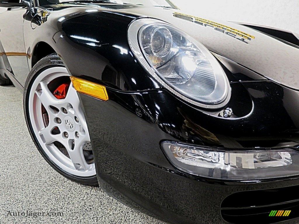 2007 911 Carrera S Cabriolet - Black / Black photo #11