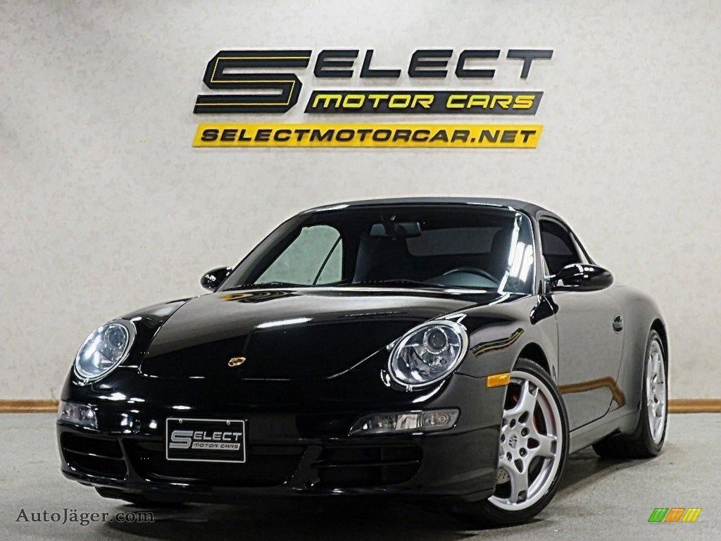 2007 911 Carrera S Cabriolet - Black / Black photo #14