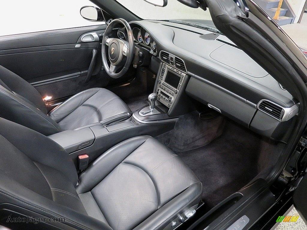 2007 911 Carrera S Cabriolet - Black / Black photo #17