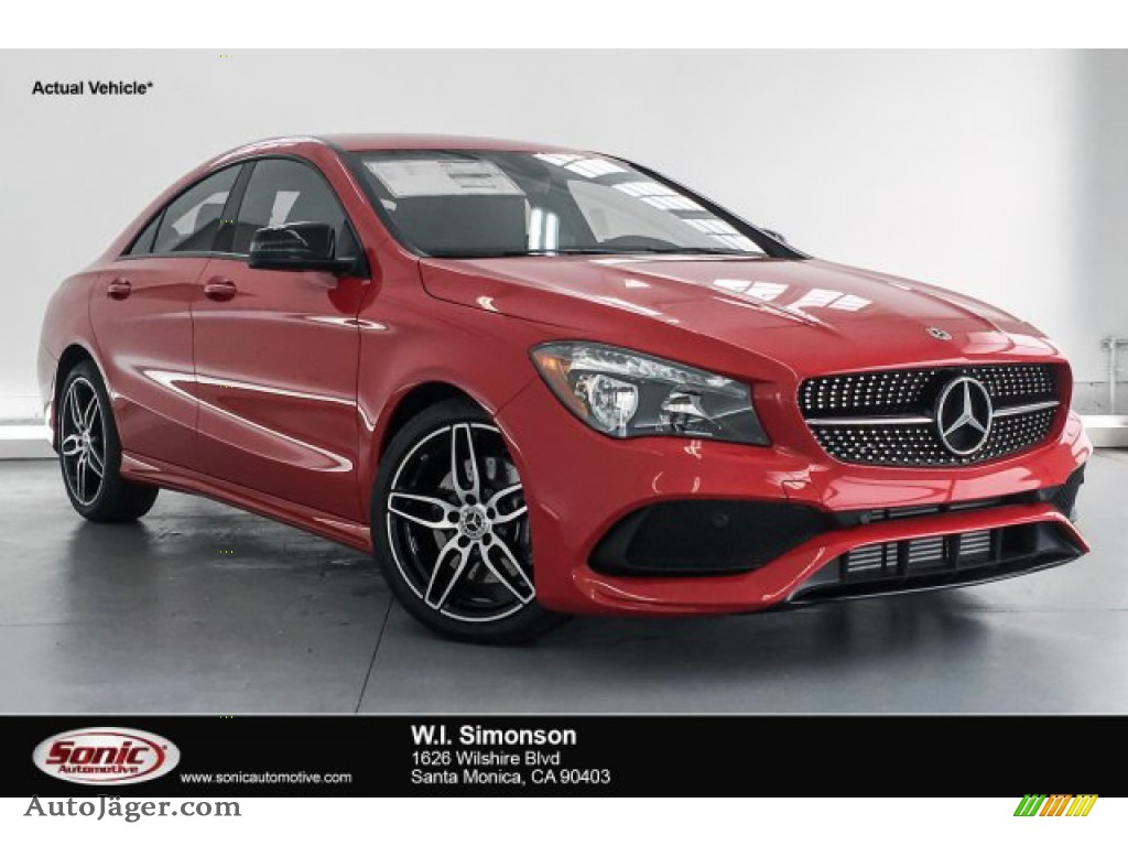 2019 CLA 250 Coupe - Jupiter Red / Black photo #1