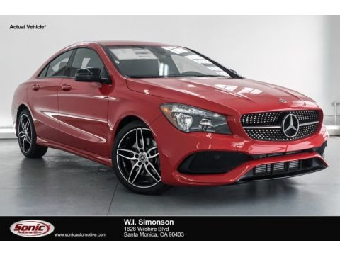 Jupiter Red 2019 Mercedes-Benz CLA 250 Coupe