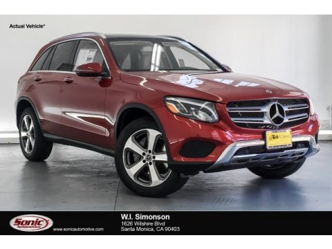 designo Cardinal Red Metallic 2019 Mercedes-Benz GLC 300 4Matic