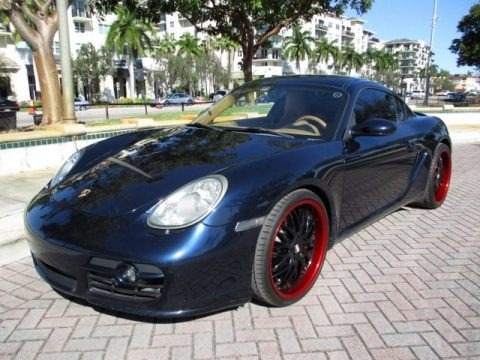 Midnight Blue Metallic 2007 Porsche Cayman S