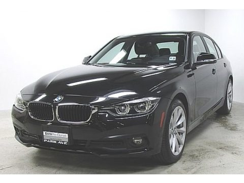 Black Sapphire Metallic 2018 BMW 3 Series 320i xDrive Sedan