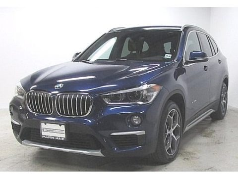 Mediterranean Blue metallic 2016 BMW X1 xDrive28i