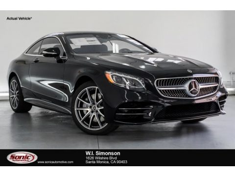 Black 2019 Mercedes-Benz S 560 4Matic Coupe