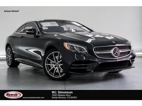 Magnetite Black Metallic 2019 Mercedes-Benz S 560 4Matic Coupe