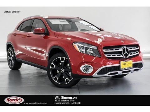 Jupiter Red 2019 Mercedes-Benz GLA 250