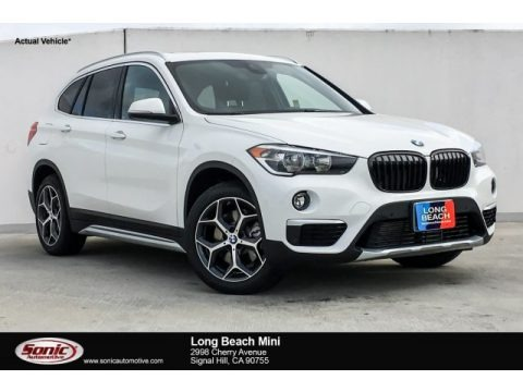 Alpine White 2019 BMW X1 sDrive28i