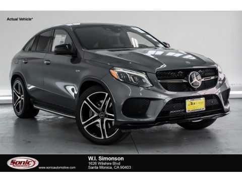 Selenite Grey Metallic 2019 Mercedes-Benz GLE 43 AMG 4Matic Coupe