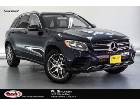 Lunar Blue Metallic 2016 Mercedes-Benz GLC 300 4Matic