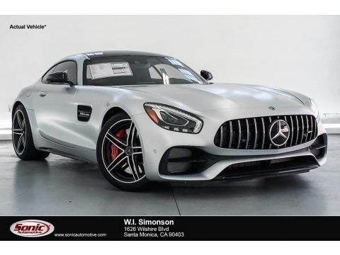 designo Iridium Silver Magno (Matte) 2019 Mercedes-Benz AMG GT C Coupe