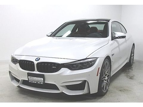 Mineral White Metallic 2018 BMW M4 Coupe