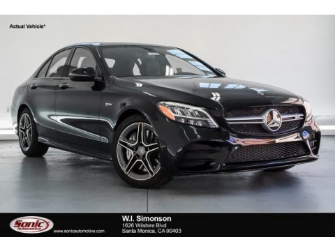 Obsidian Black Metallic 2019 Mercedes-Benz GLC AMG 43 4Matic
