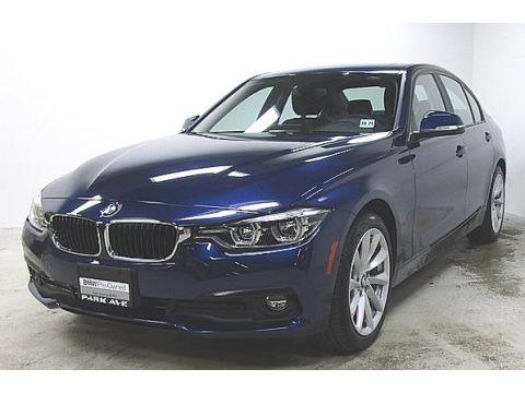 Mediterranean Blue Metallic 2018 BMW 3 Series 320i xDrive Sedan