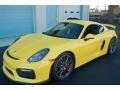 Porsche Cayman GT4 Racing Yellow photo #1